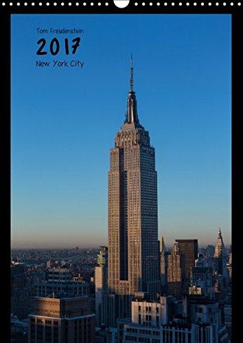 Vertical New York (Wandkalender 2017 DIN A3 hoch): Ansichten New Yorker Wolkenkratzer (Monatskalender, 14 Seiten ) (CALVENDO Orte)