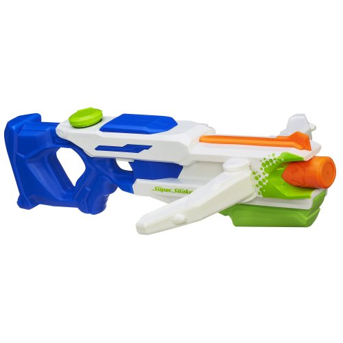 Nerf A4836-04470 - Supersoaker Tri Strike Crossbow, Wurfspiel