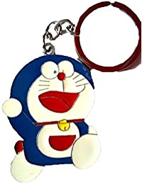 RJM Single Sided Doraemon Metal Keychain | Key Ring For Car Bike Home Keys | Key Chain For Kids Men Women Boys...