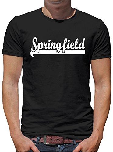 TLM Springfield T-Shirt Herren XXXXL Schwarz