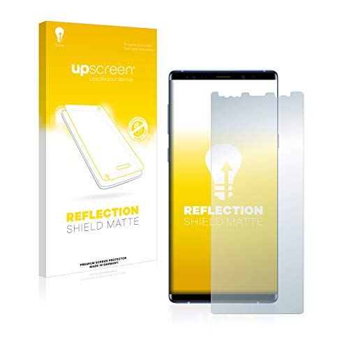 upscreen Reflection Shield Displayschutzfolie für Samsung Galaxy Note 9 Schutz Folie - Blendschutz, Anti-Impronte