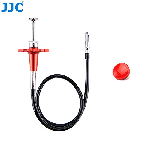 PROfoto.Trend/JJC 40CM Red Mechanische Sperren Kamera Fernauslöser Kabel mit Rotem Konkave Oberflächen Weichem Freigabeknopf Satz