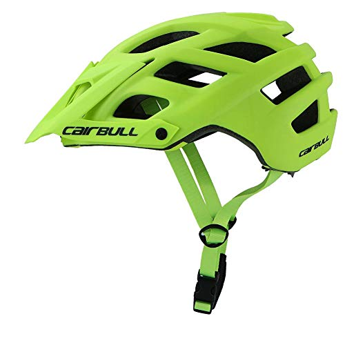 Roful casco da ciclismo, cairbull 280g 6 colori trail xc casco bici da strada visiera regolabile mtb casco bici da ciclismo mountain sports in-mold
