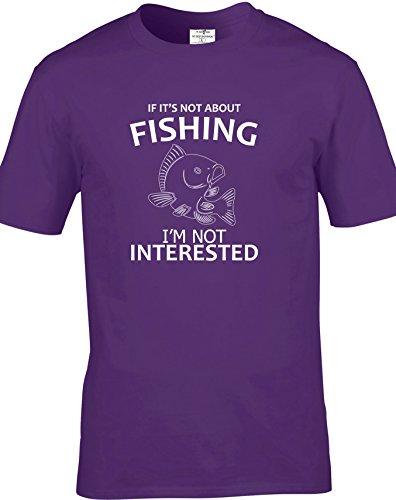 Eat Sleep Shop Repeat Herren T-Shirt Violett