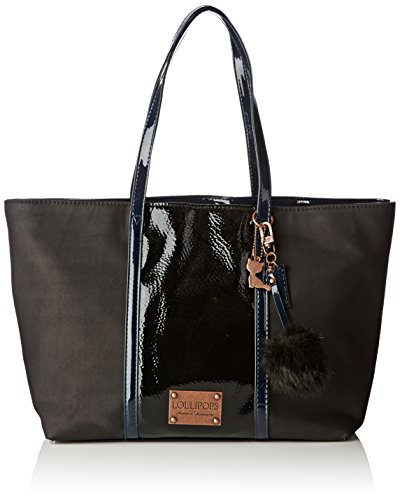 Lollipops Yoxane 22265, Borsa a spalla donna , Nero (Black (nero)), Taille Unique