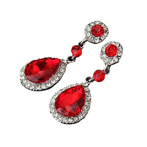 chmuckrhinestone-Art-Hochzeits-Ohrringe für Frauen ()