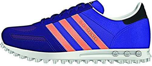 Adidas La Trainer K White Blue Orange Purple Blue Orange