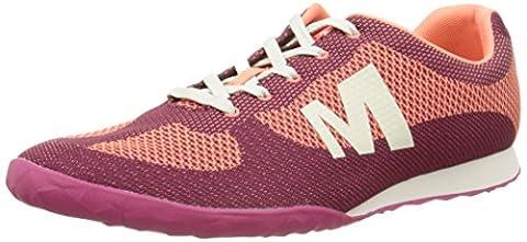 Merrell Civet, Baskets femme, Rose (Beet Red), 41 EU (7 UK)