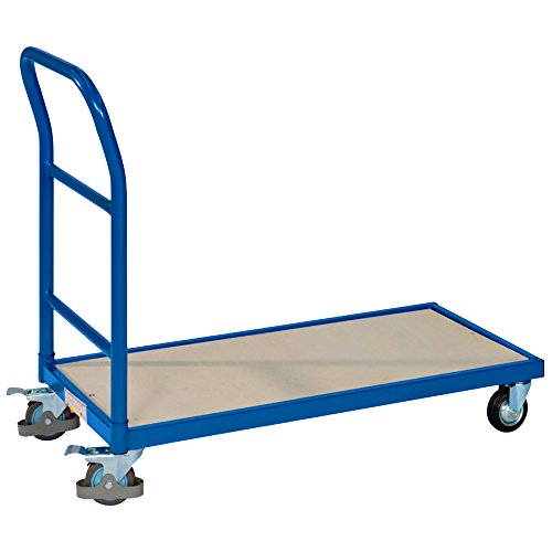 pro-bau-tec 14016 Plattformwagen, 250 kg, blau