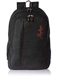 Skybags 27 Ltrs Black Casual Backpack (LPBPSPABLK)