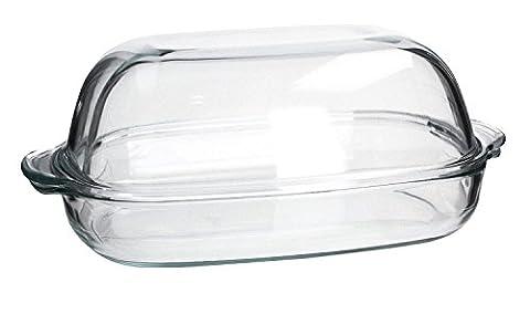 SIMAX Hitzebeständiges feuerfestes Gefäß Küchengeshirr Auflaufform mit Deckel EXCELLENT drei Größen zur Auswahl NEU&OVP (8,6