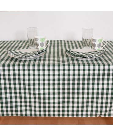 Coloris Vert Lingorama Serviette de Table 50 x 50 Normandes Carreaux Pur Coton Vendu par 3