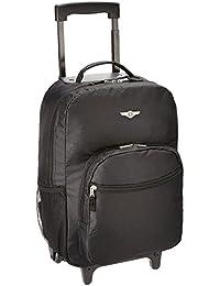Rockland Mesh Black Children's Backpack (R01-BLACK)