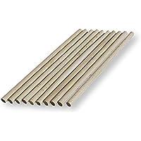 10 tacos de madera para manualidades de 6mm de espesor, 10cm, 15cm y 30cm de largo, 30 cm