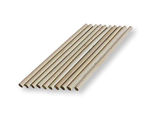 palos de Craft/ 10/cm 15/cm 10 cm /8/mm de espesor 10/x tacos de madera 30/cm de largo