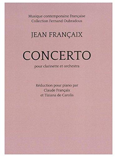 Jean Francaix: Concerto for Clarinet (Pi...