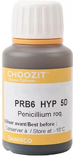 Penicillium Roqueforti Hyptonic Prb6 5 doses pour production de Bleu Moule à fromages...
