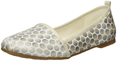 tamaris-damen-24668-slipper-silber-silver-dots-914-42-eu