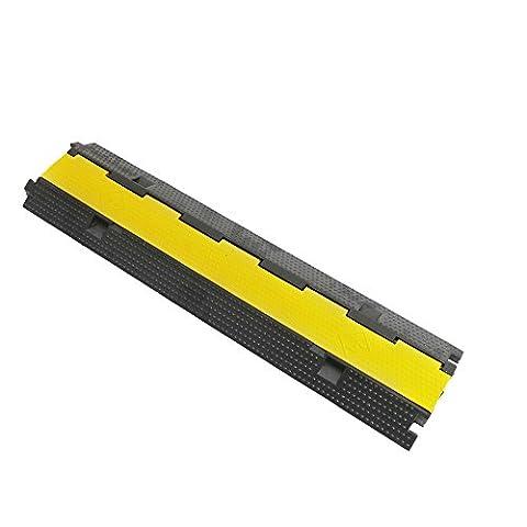 Passe de sol pour la protection des câbles et 98cm 2 voies droite - Cablematic