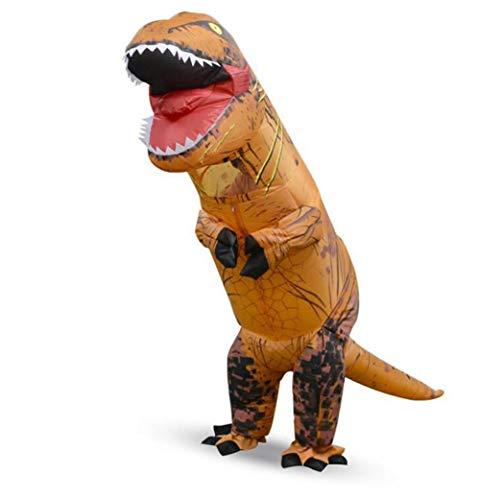 QIONGQIONG Halloween-Aufblasbare Party-Party-Ball-Spielzeug Erwachsene/Kind Tyrannosaurus Dinosaurier Performance-Kostüm ()