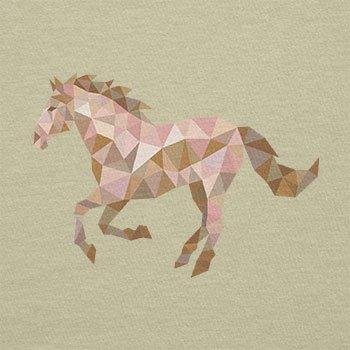 Texlab–Poly Horse–sacchetto di stoffa Naturale
