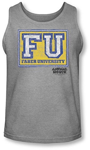 Animal House - - Herren Faber Universität Tank-Top Heather