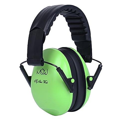 Verstellbarer Gehörschutz Ohrenschützer für Kinder und Erwachsene, Faltbare Geräusche Stornierung