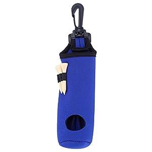 Alomejor Golf Ball Bag Halter Clip Utility Pouch Golf Tees Halter Tragetasche Carrier Tasche Taille Gürteltasche…