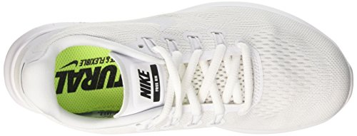 Nike Wmns Free RN 2, Scarpe Running Donna Bianco (White/white-black-pure Platinum)