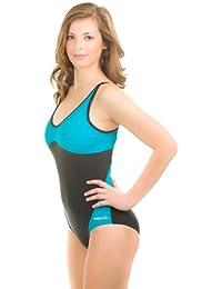 c1d2841f8b7f Aqua Speed Damen Badeanzug - Wettkampfanzug Schwimmanzug - Chlorresistente  - Aus Hochwertigem Material - LYCRA Xtra
