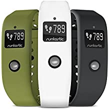 Orbit Bracelet Color Set of 3(Green, Anthracite, White) by Runtastic