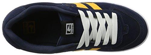 Globe Encore-2, Pantofole Uomo Blu (Navy/Yellow)