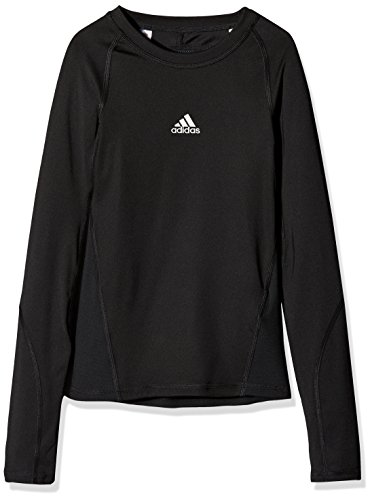adidas Kinder Alphaskin Longsleeve Funktions Shirt, Black, 164