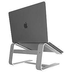 Macally astand Aluminium Laptop Ständer für Apple MacBook, MacBook Air, MacBook Pro–Silber