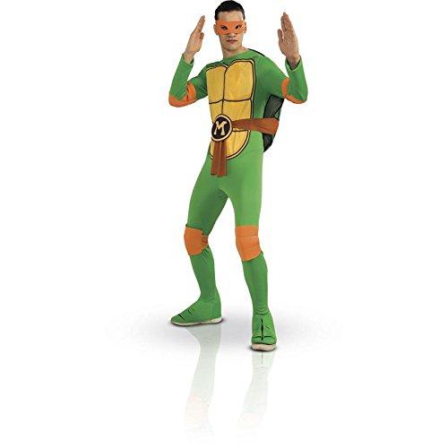 cs987251–Kostüm–Michelangelo Schildkröte Ninja–TMNT–Einheitsgröße (Orange Ninja Turtle Kostüm)