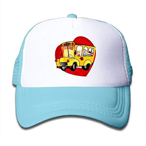 us Boy's Washed Adjustable Mesh Baseball Cap ()