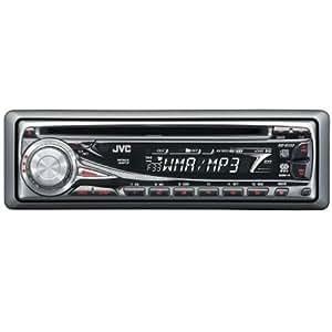 JVC KD G 333 MP3-CD-Tuner schwarz