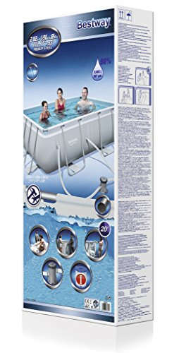 Bestway Frame Pool Power Steel Set 282x196x84 cm -