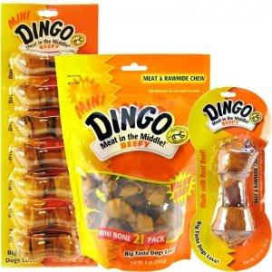 Artikelbild: Dingo Beefy Bone Medium (Beefy 5.5-6.0, 70G), 2.5-Ounce by Dingo