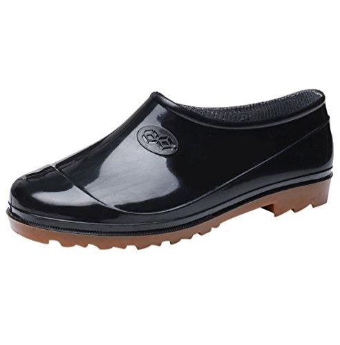 Xinwcang Hommes & Femmes Chaussure de Jardinage Imperméables Unisexe Jardin Bottines Cheville Bottine de Chelsea Boots comme Image Asia 38