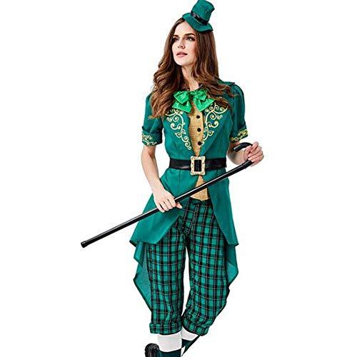 QWE Halloween Kostüm Elf Familie verkleiden Sich St. Parque Karneval Kostüm Bühnenkostüm (Familie Karneval Kostüm)