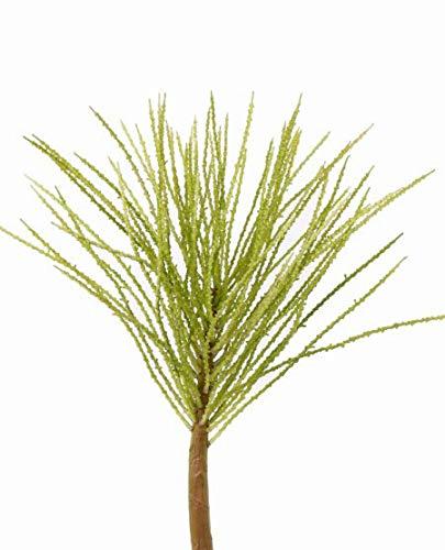 artplants Set 6 x Plastik Areca Palmen Fruchtzweig FIONN, 75cm – Kunstpflanze/Künstliche Palmensaat
