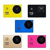 Karne Registratore Impermeabile per videocamera Sportiva DV per Esterni HD 1080P...