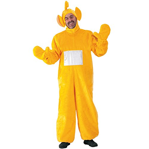 (CARNIVAL TOYS S.R.L., Teletubbies LAA LAA Erwachsenen Kostüm XL)