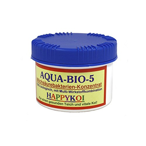 AQUA BIO 5 Milchsäurebakterien Pulver Bakterien Teich Koi, Inhalt:500 ml