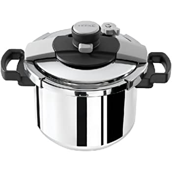 Tefal Clipso Easy Pressure Cooker Stainless Steel 6 Litre Amazon