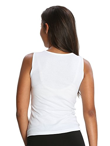 Jockey Women's Cotton Tank Top (1535_White_S )