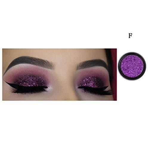 Mitlfuny➤Black Friday & Cyber Monday -80%➤1 stücke Shimmer Glitter Lidschatten Pulver Palette Matte Lidschatten Kosmetik Make-Up
