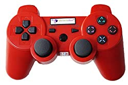 Digital Gaming World's PS3 Wireless Controller For Sony PS3 Console(Red Color Limited Edition), Compatible/Generic.