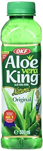 OKF - Aloe Vera Getränk - Aloe Vera King Original (Traube) - 20er-Pack (20 x500ml)